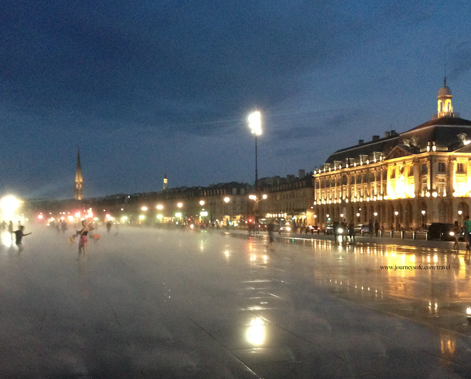 Miroir D'Eau Bordeaux night